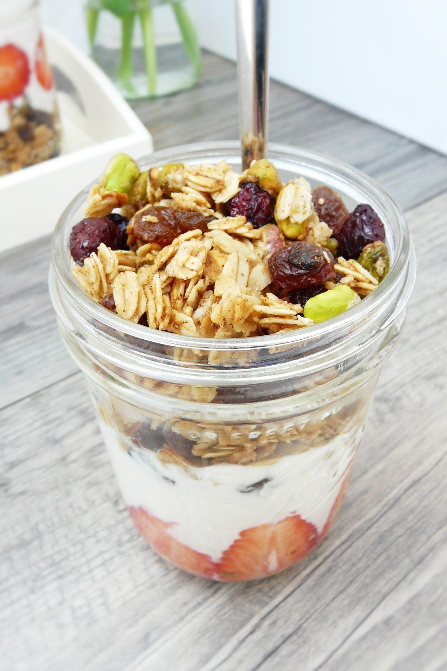 Erdbeer-Joghurt-Trifle