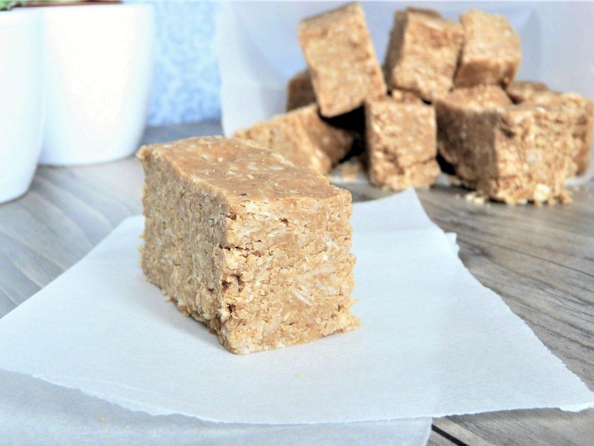 Erdnussbutter-Proteinriegel