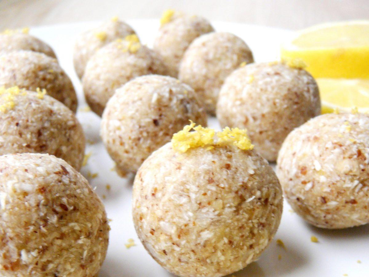 Lemon Pie Bliss Balls