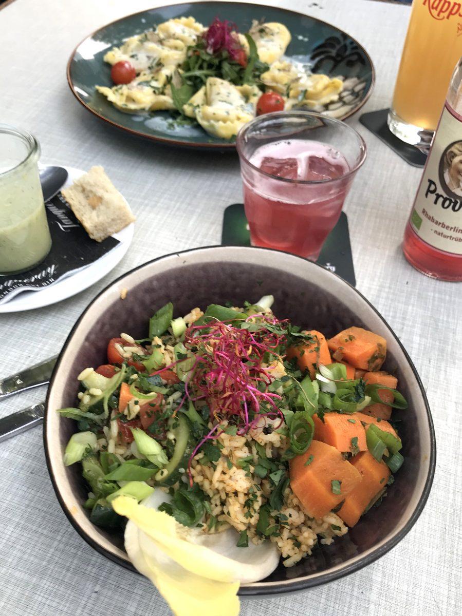 Gesund und vegetarisch essen in Frankfurt