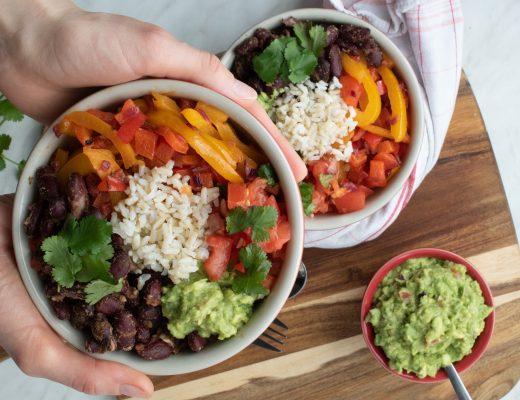 Vegane Burrito-Bowl