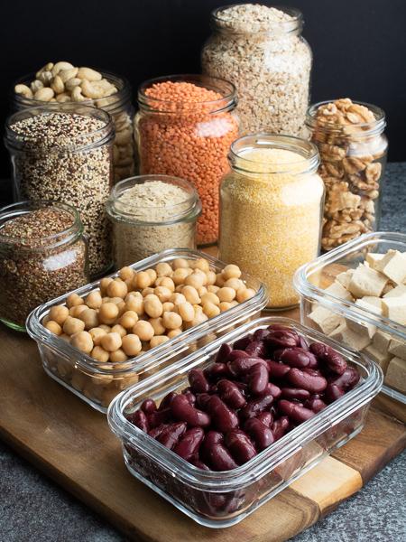 Vegane Proteinquellen - Kidneybohnen