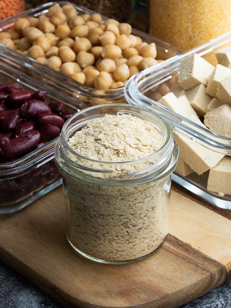 Vegane Proteinquellen - Hefeflocken