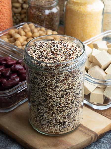 Vegane Proteinquellen - Quinoa