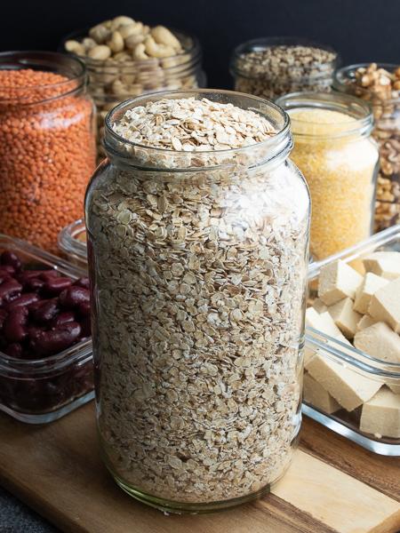 Vegane Proteinquellen - Haferflocken