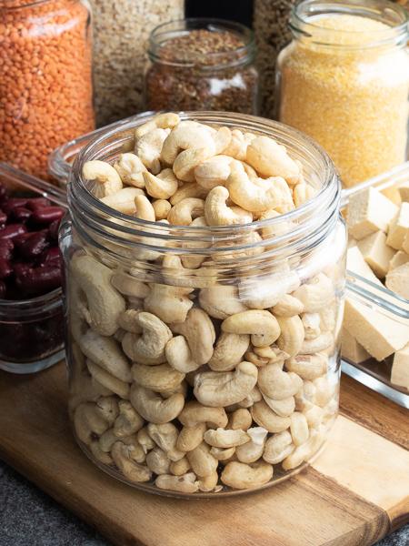 Vegane Proteinquellen - Cashewkerne