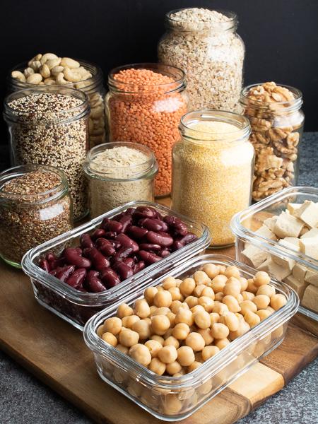 Vegane Proteinquellen - Kichererbsen