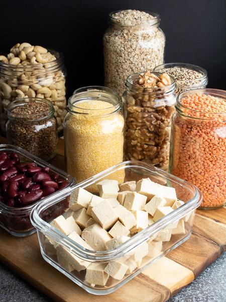 Vegane Proteinquellen - Tofu