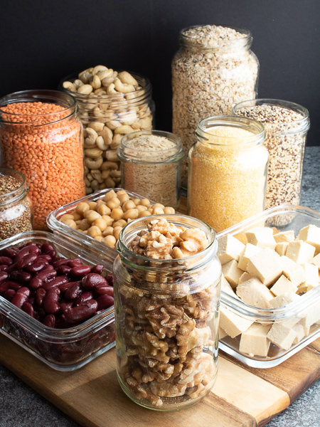 Vegane Proteinquellen - Walnüsse
