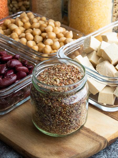 Vegane Proteinquellen - Leinsamen
