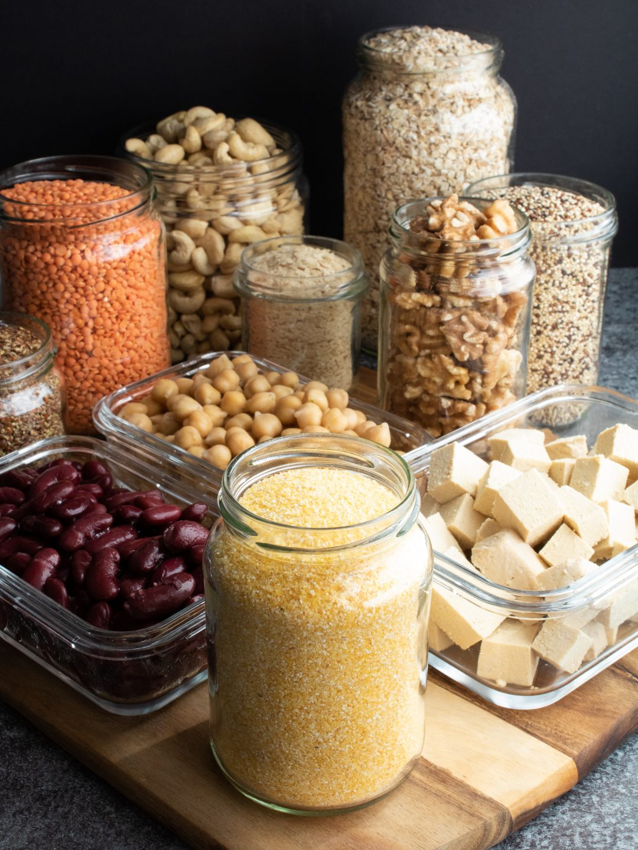 vegane Proteinquellen