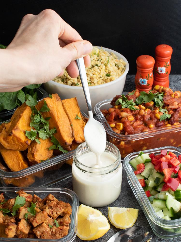 Tipps für einfaches Meal Prepping - verwende deine Küchenmaschine