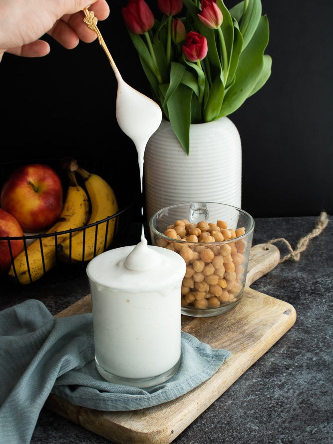 Eialternativen für Veganer - Aquafaba / Kichererbsenwasser