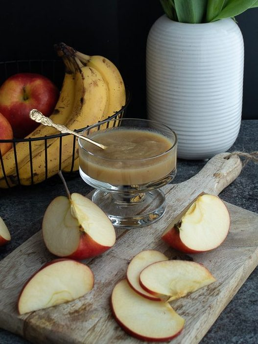 Eiersatz für Veganer - Apfelmus
